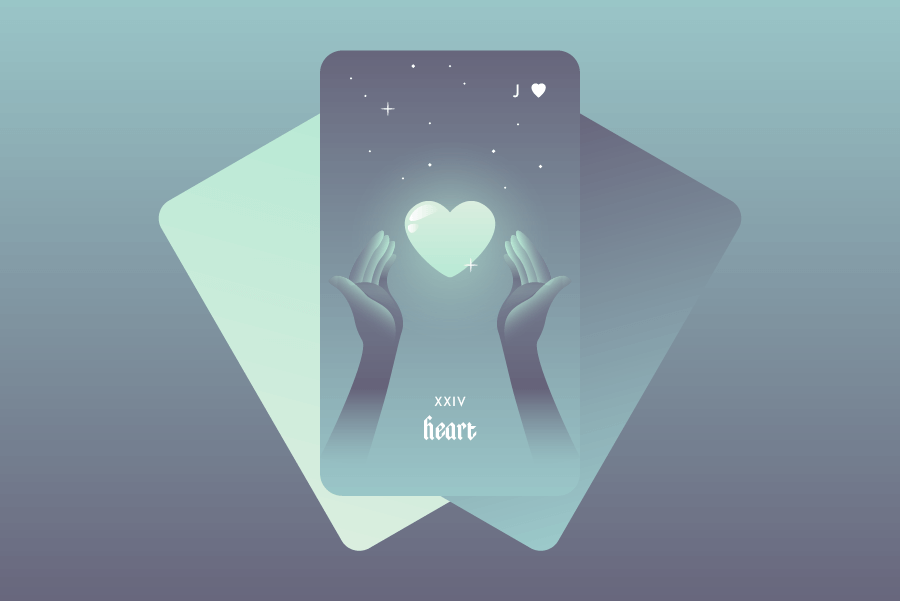 The Heart Lenormand Card Meaning and Combinations