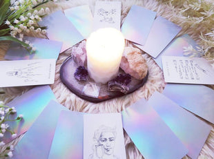 New Years & Gratitude Giveaway - Win a Golden Thread Tarot Deck OR Luminous Spirit Tarot Deck
