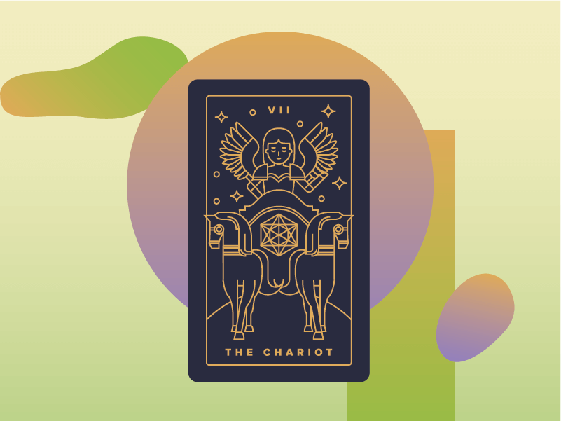 The Chariot Meaning - Major Arcana Tarot Card Meanings