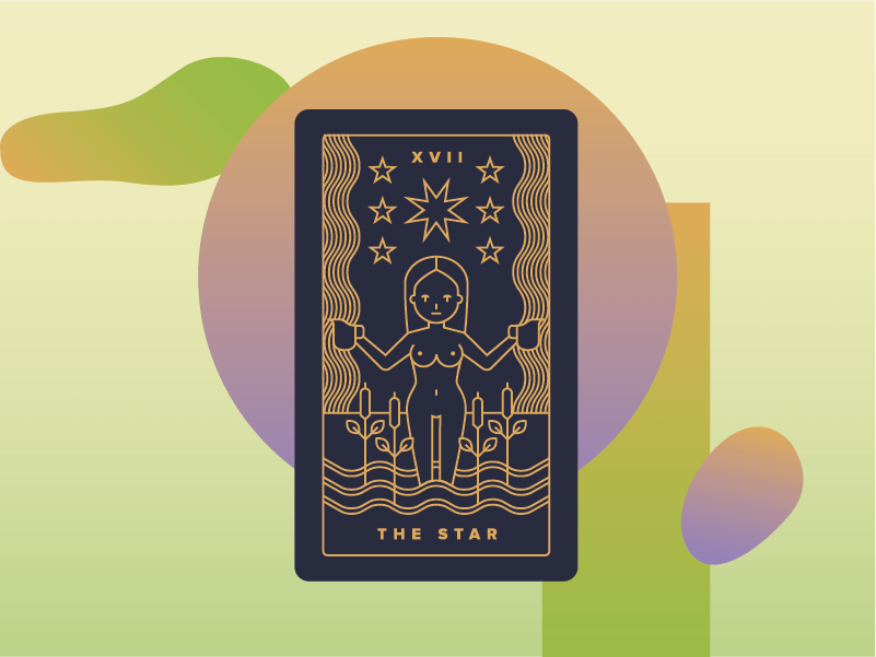 Carte Black Signification.The Star Meaning Major Arcana Tarot Card Meanings