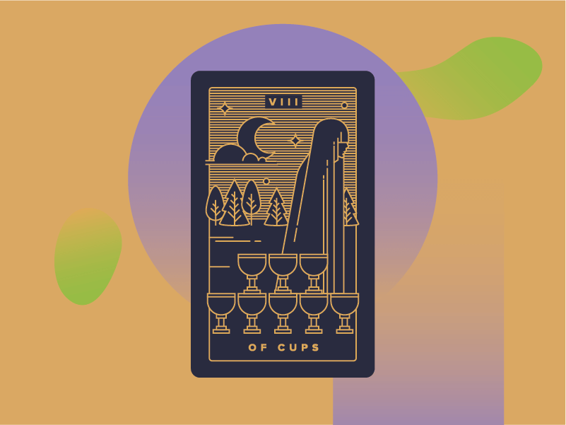 Eight of Cups Meaning - Tarot Card Meanings