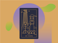Four of Cups Meaning - Tarot Card Meanings