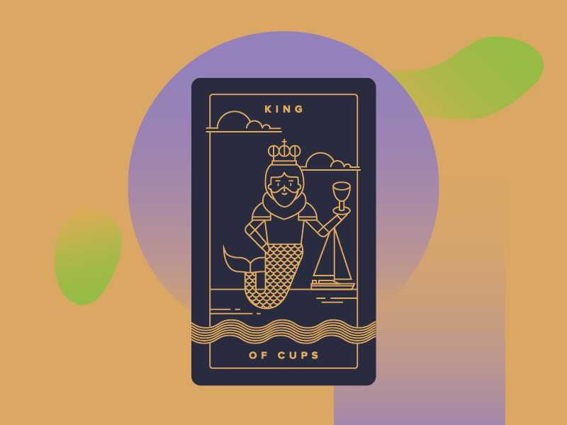 King of Cups Meaning - Tarot Card Meanings