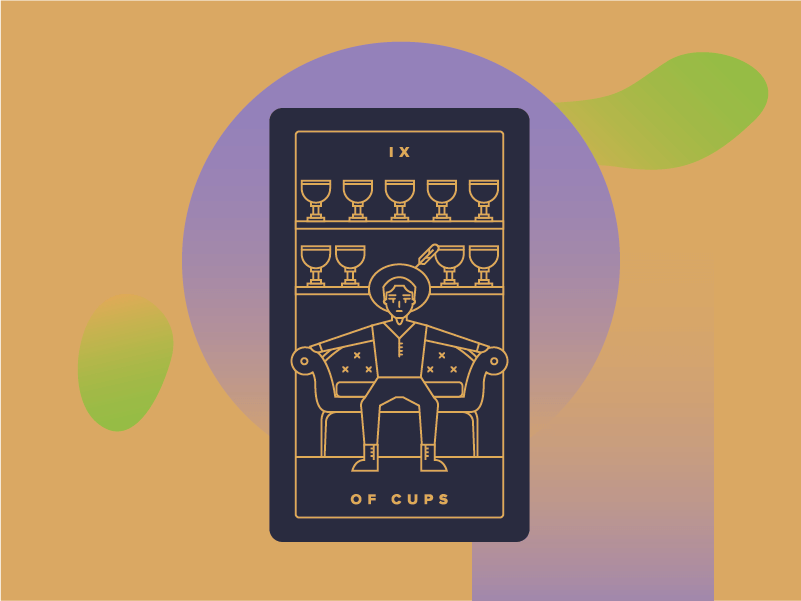 Nine of Cups Meaning - Tarot Card Meanings
