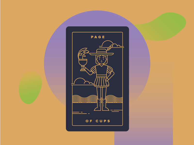 Page of Cups Meaning - Tarot Card Meanings
