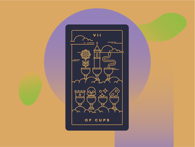 Seven of Cups Meaning - Tarot Card Meanings