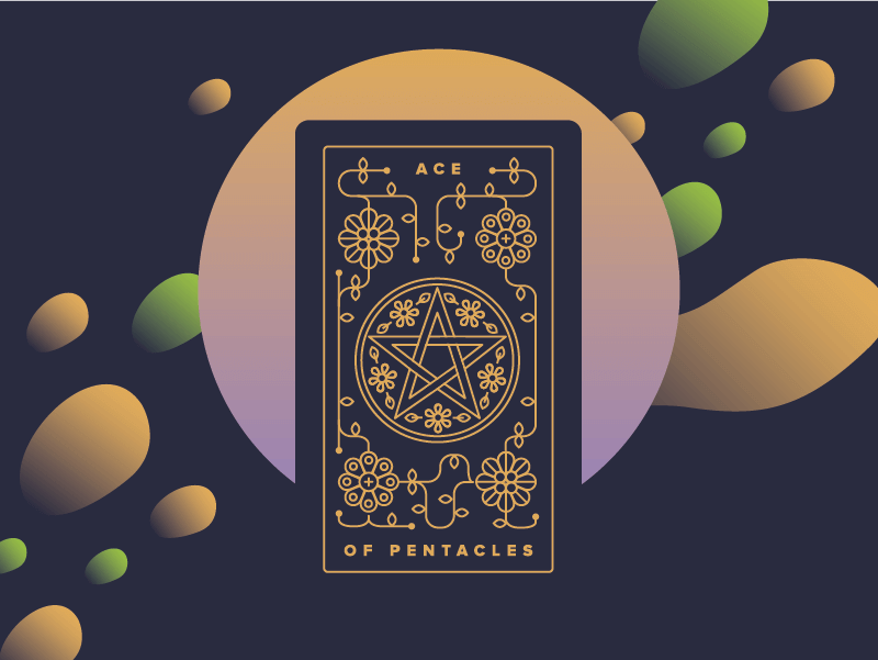 Ace of Pentacles Meaning - Tarot Card Meanings – Labyrinthos