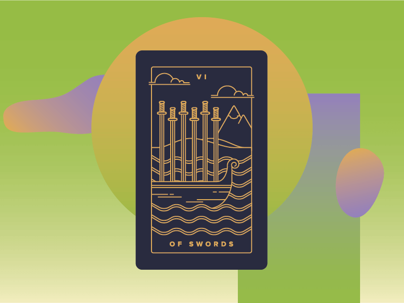 Six of Swords Meaning - Tarot Card Meanings