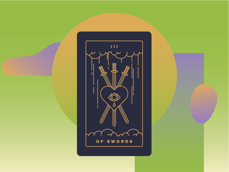 Three of Swords Meaning - Tarot Card Meanings