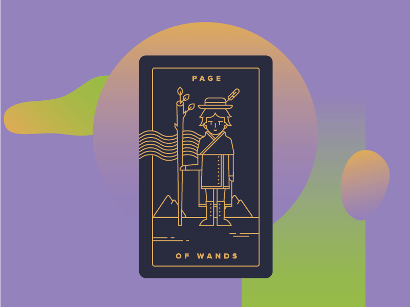 Page of Wands Meaning - Tarot Card Meanings