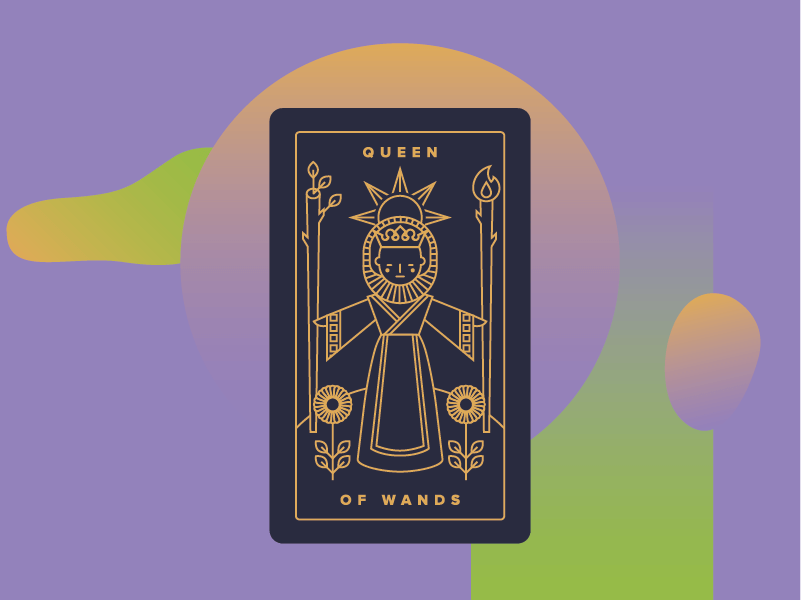 Queen of Wands Meaning - Tarot Card Meanings