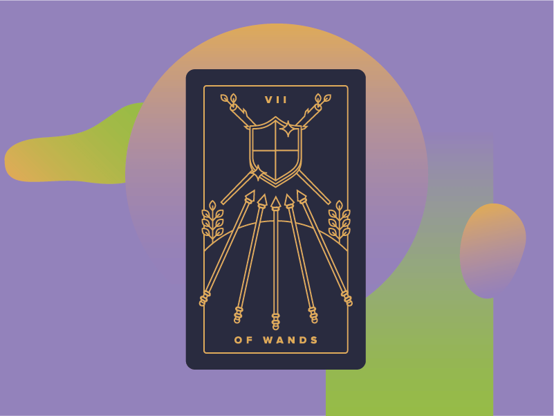 Seven of Wands Meaning - Tarot Card Meanings