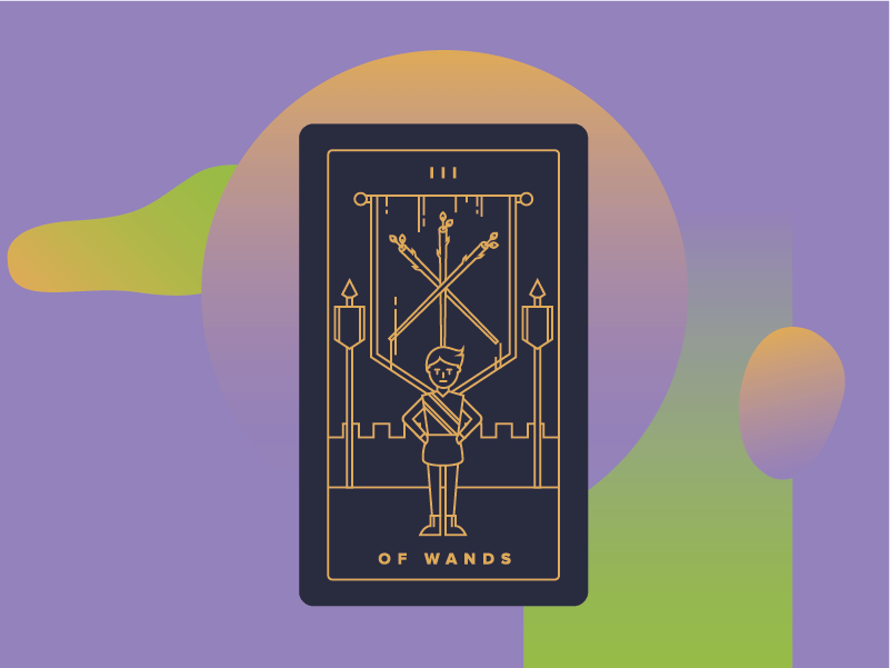 Three of Wands Meaning - Tarot Card Meanings