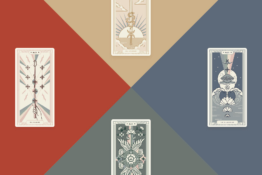 Tarot Elements: Correspondences and Working with Elemental Dignities