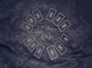 4 Tarot Spreads to Use on Your Map of the Universe Tarot Cloth