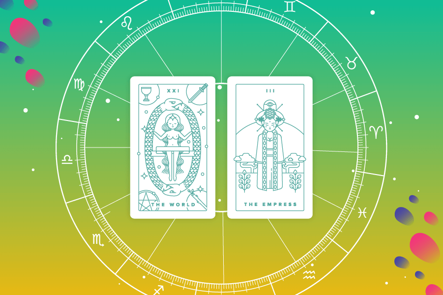 How to Calculate Your Tarot Birth Card, Plus Short Birth Card Meanings: Infographic