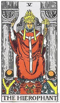 The Hierophant Meaning - Major Arcana Tarot Card Meanings – Labyrinthos