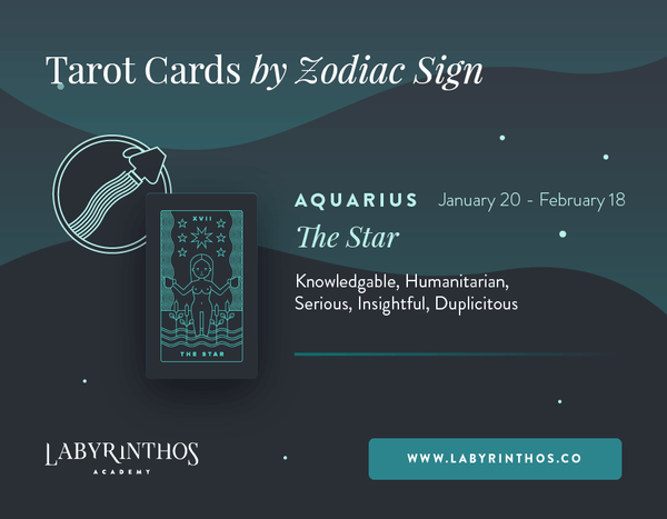 Aquarius and the Star: Astrology Tarot Cards - Tarot Cards by Zodiac