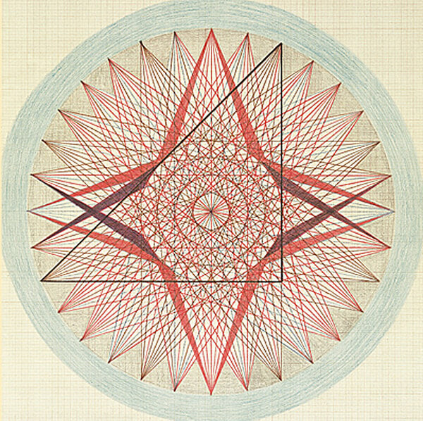 Emma Kunz - Sacred Geometry Art - Healer and Mystic