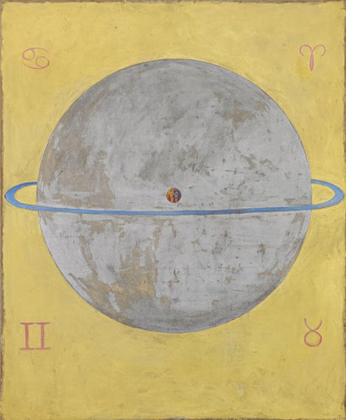 Hilma af Klint - Sacred Geometry Art - Witch, Mystic and Theosophist, The Five