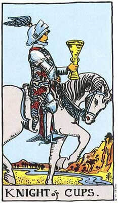 Knight of Cups Meaning - Tarot Card Meanings – Labyrinthos