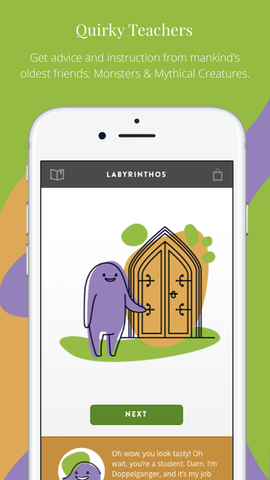 Labyrinthos Academy Screenshot: Learn Tarot from Monsters and Mythical Creatures of Lore