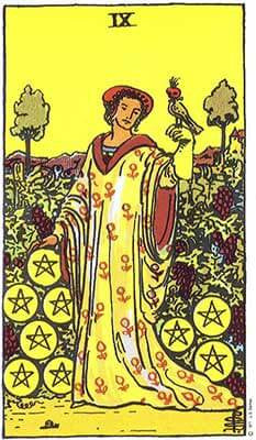 Nine of Pentacles Meaning - Tarot Card Meanings – Labyrinthos