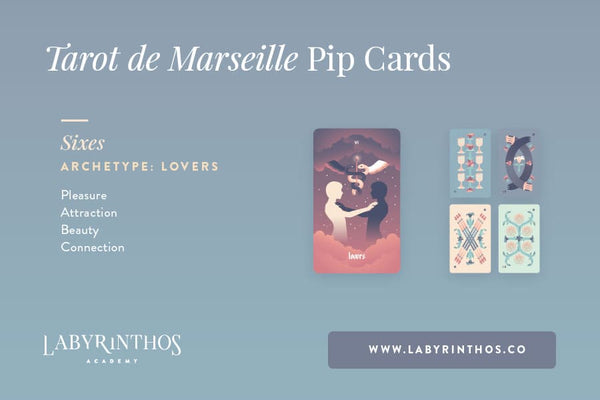 The Minor Arcana of the Tarot de Marseille: A System of Understanding Pip Cards - The Lovers and the Sixes