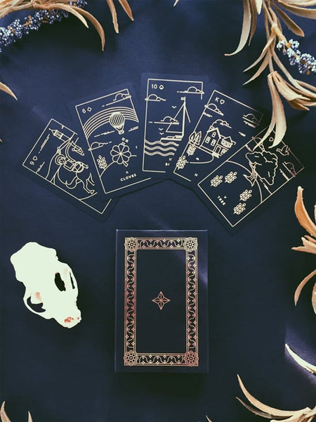 Golden Thread Lenormand Deck