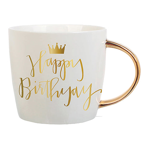 G- Happy Birthday Coffee Mug