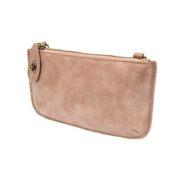 H-Clutch Blush Lustre Lux Crossbody Wristlet