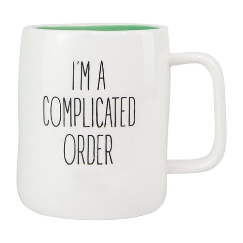 G- Mary Square Complicated Order Coffee Mug