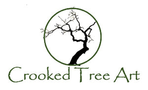 Crooked Tree Art Logo - Artist Denise Fisher