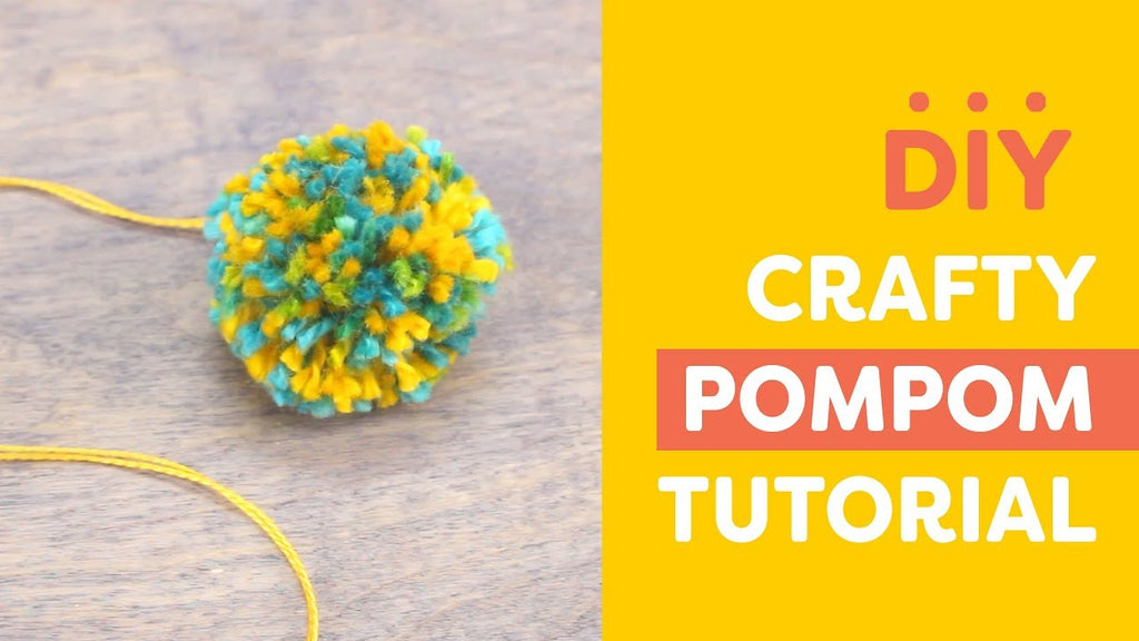 DIY Crafty Pom Poms Tutorial