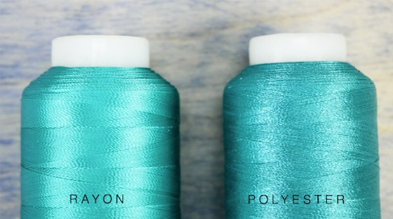 What's the difference between Rayon and Polyester?