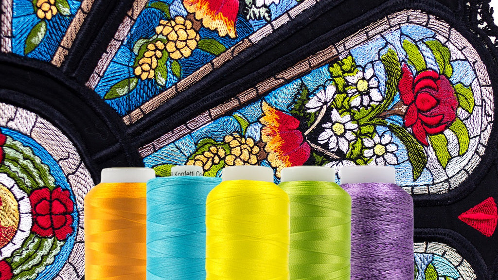Choosing the Best Machine Embroidery Thread