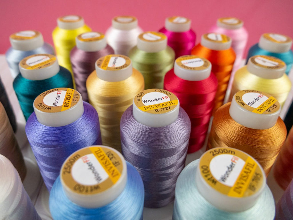 Introducing InvisaFil™ Ultra Fine 100wt Cottonized Polyester Thread