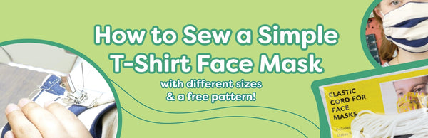 How to Sew a Simple T-Shirt Face Mask