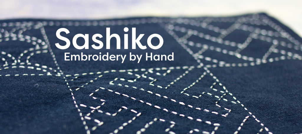 Sashiko Embroidery by Hand Using Perle Cotton