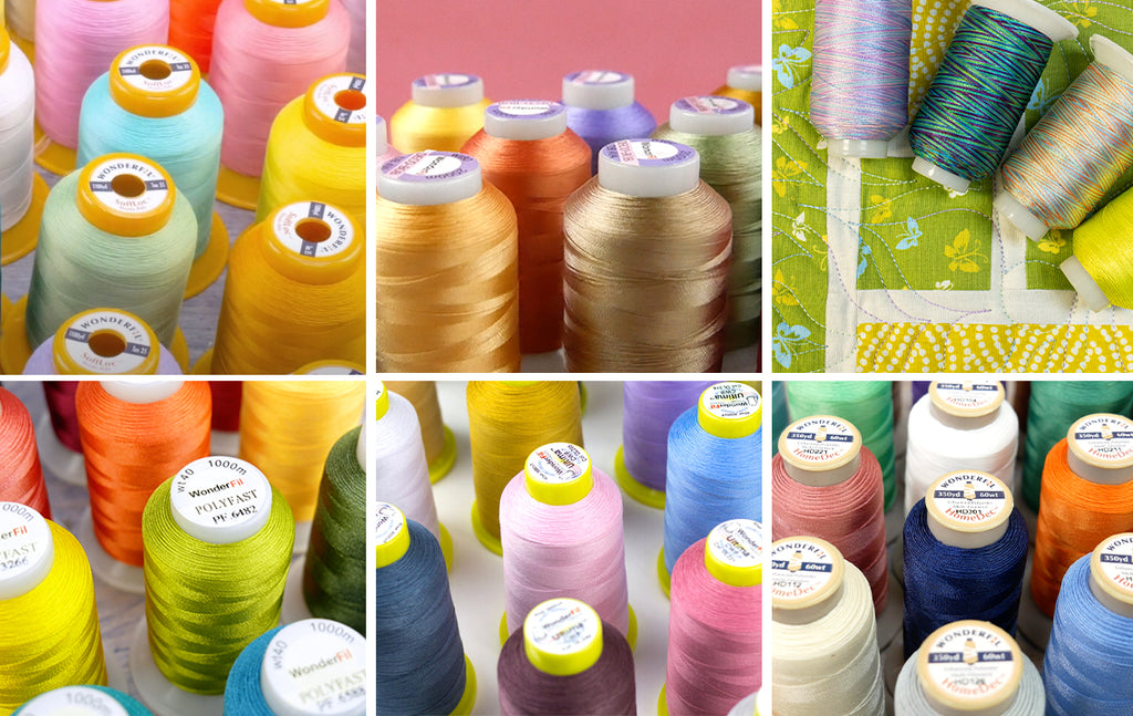 Exploring Polyester Thread: Varieties, Differences, & Where to Use Them
