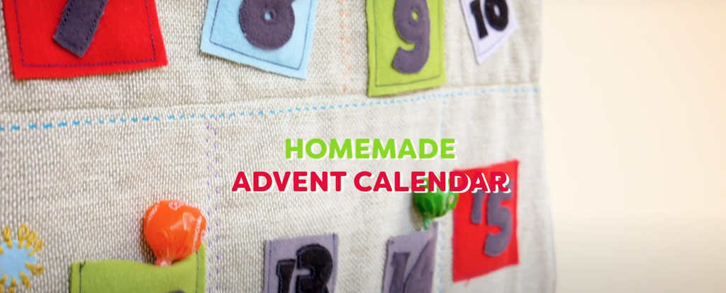 Handmade Wool Advent Calendar