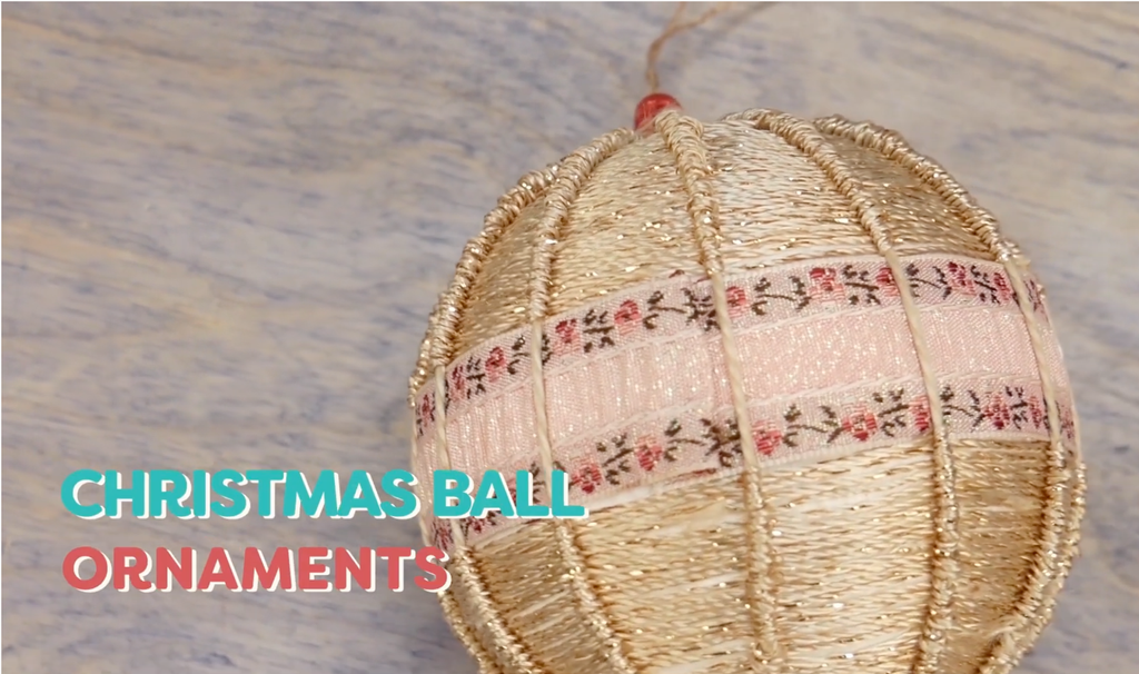 Make Your Own Sparkly Ornament Craft