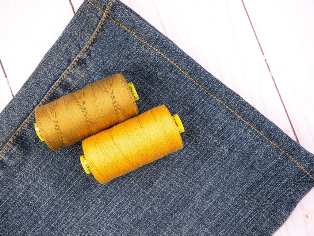 The Easiest Way to Hem a Pair of Jeans - WonderFil UK