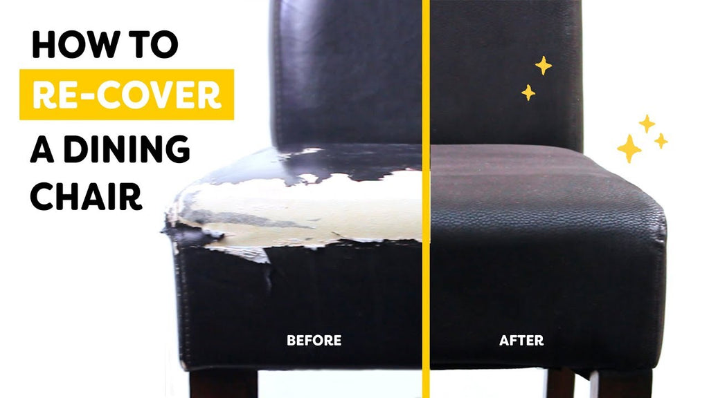 ✂️ How to Change the Covers on Your Dining Room Chairs ✂️