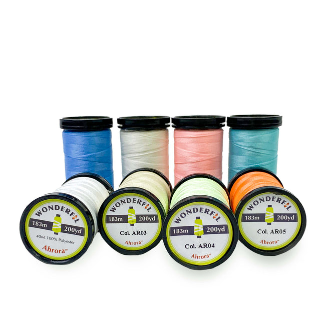 Ahrora 40wt Glow in the Dark Polyester Thread