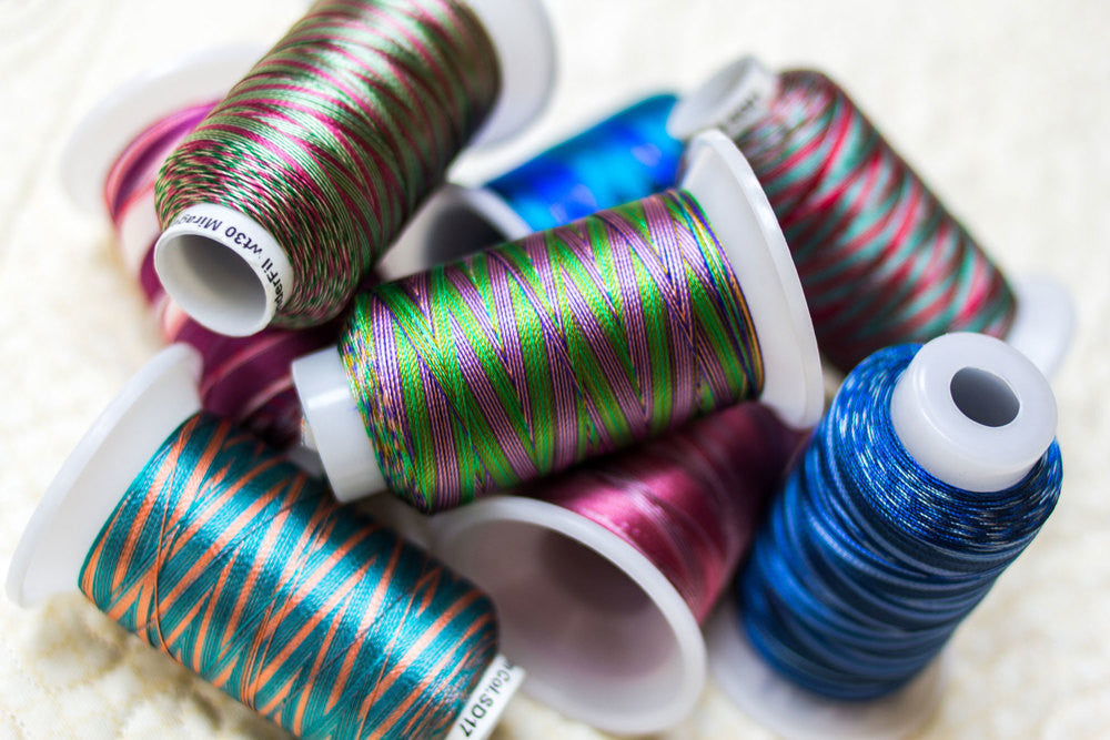 Mirage™ 30wt Random-Dyed Rayon Embroidery Thread
