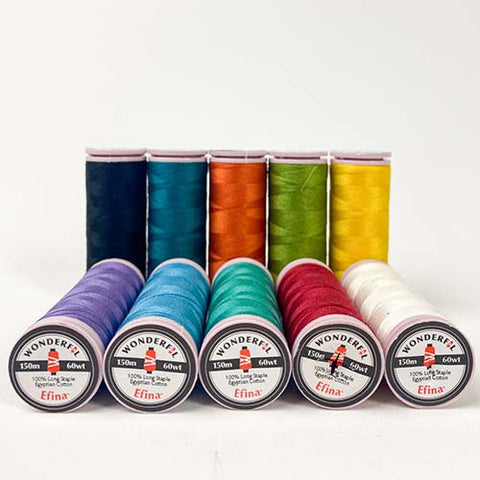 Sue Spargo Efina™ 60wt Egyptian Cotton Thread