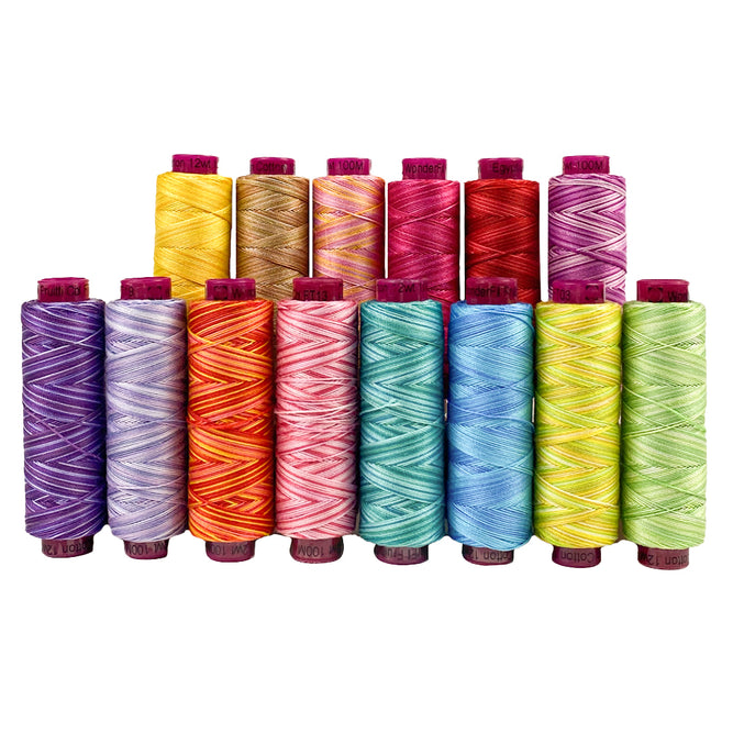Fruitti™ 12wt Egyptian Cotton Thread for Quilting
