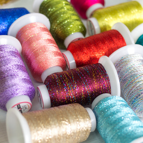 GlaMore™ 12wt Rayon and Metallic Thread