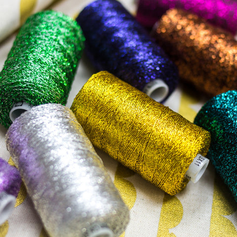Sizzle™ 4ply Rayon with Metallic Thread